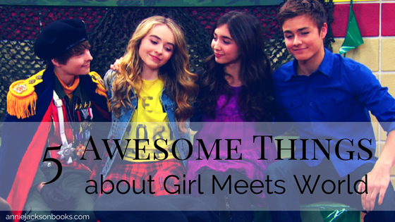 5 lessons Girl Meets Corey Fogelmanis Sabrina Carpenter Rowan Blanchard Peyton Meyer feature