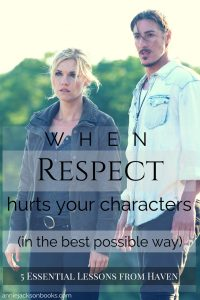 5 lessons Haven Emily Rose Eric Balfour pinterest