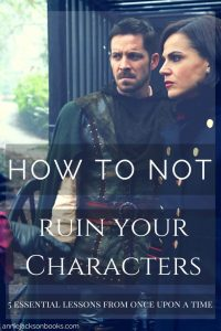 5 lessons Once Upon a Time Lana Parrilla Sean Maguire pinterest
