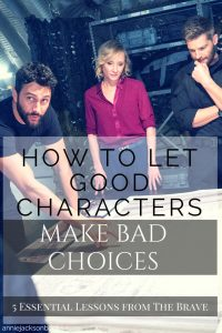 5 lessons The Brave Noah Mills Mike Vogel Anne Heche pinterest