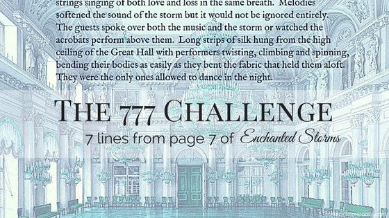 777 challenge Enchanted Storms quote feature