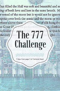 777 challenge meme Enchanted Storms book quote pinterest
