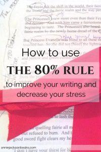 80 percent rule pinterest