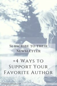 Author Support Newsletter subscribe pinterest