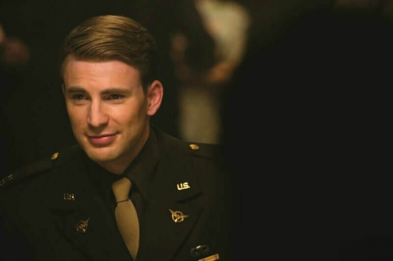 CAPTAIN AMERICA FIRST AVENGER Chris Evans as Steve Rogers DisneyMarvel