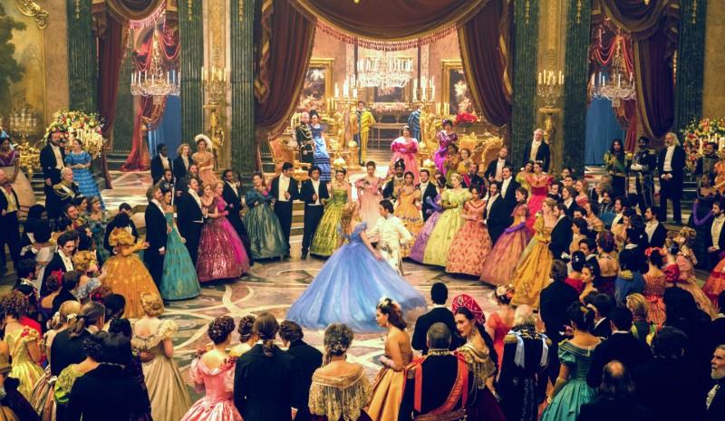CINDERELLA Lily James as Cinderella Richard Madden as Prince Disney