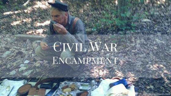 Civil War encampment feature