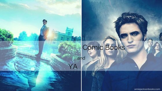 The confluence of YA and comic books