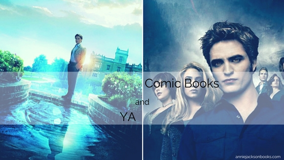 Comic books and YA X Men James McAvoy Twilight Eclipse Robert Pattinson cast feature