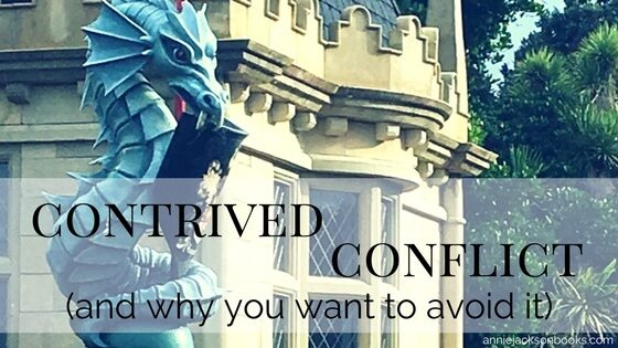 What is contrived conflict