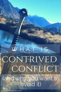 Contrived Conflict pinterest