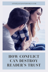Contrived Conflict trust pinterest