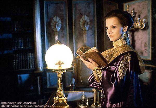 DUNE Julie Cox as Princess Irulan Corrino Syfy