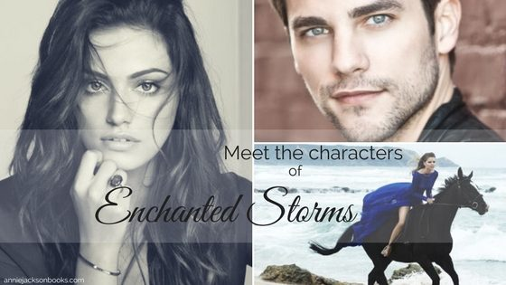 Meet the characters of Enchanted Storms
