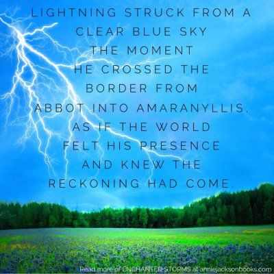 Enchanted Storms quote reckoning