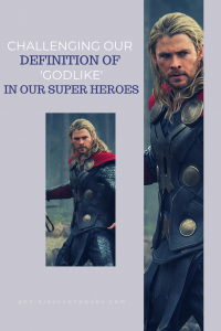 Godlike Superheroes Chris Hemsworth as Thor pinterest