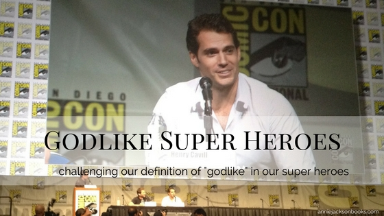 Godlike Superheroes Henry Cavill Comic Con feature