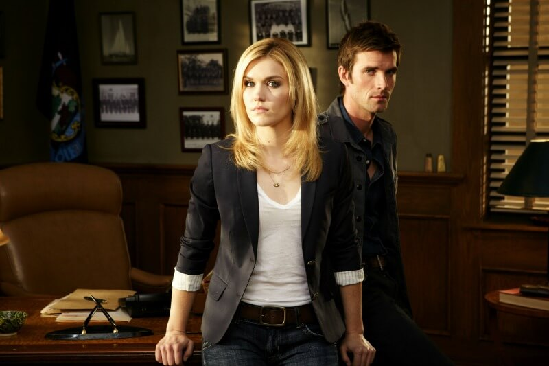 HAVEN Emily Rose as Audrey Parker Lucas Bryant as Nathan Wuornos Syfy