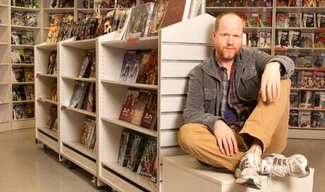 Joss Whedon at Forbidden Planet in London
