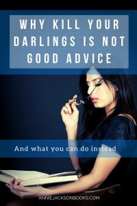 Kill Your Darlings Alternatives girl reading pinterest
