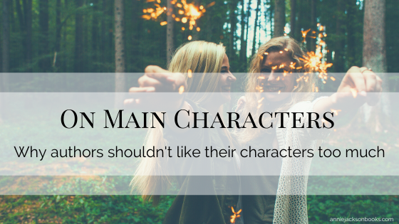 Main Characters blog title