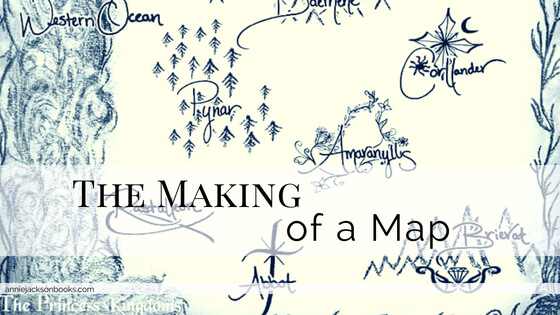 Making of a Map Princess Kingdoms feature