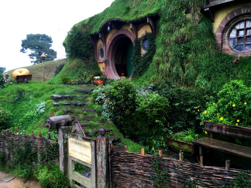 New Zealand Bag End