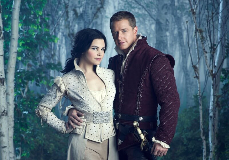 ONCE UPON A TIME Ginnifer Goodwin as Snow White Josh Dallas as Prince Charming ABC