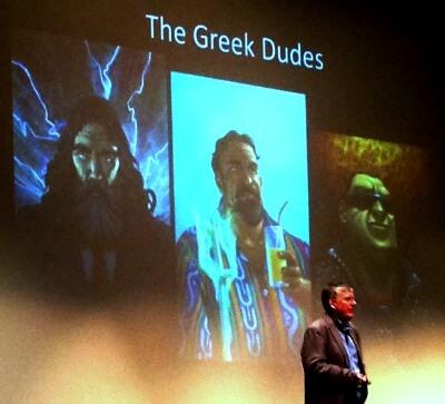 Rick Riordan Greek dudes