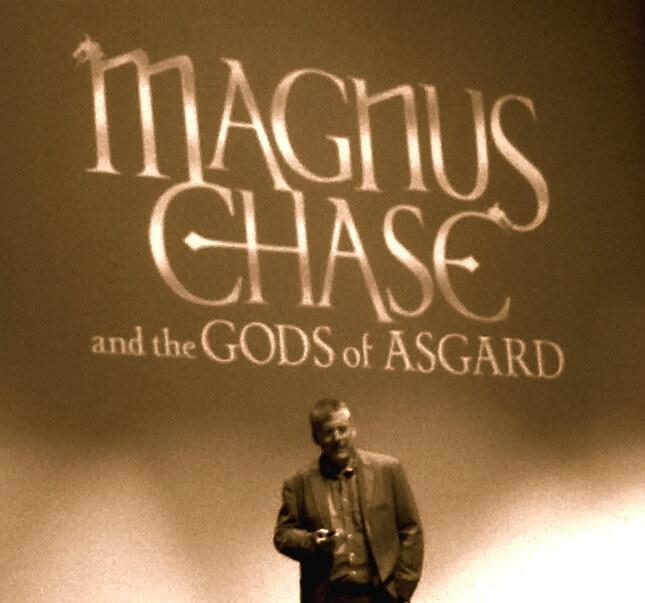 Rick Riordan Magnus Chase event