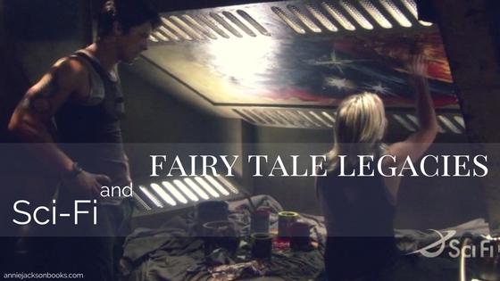 Sci Fi and Fairy Tale Legacies Battlestar Galactica Michael Trucco Katee Sackoff feature