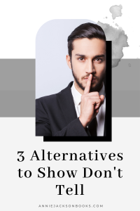 Show Dont Tell Alternatives pinterest