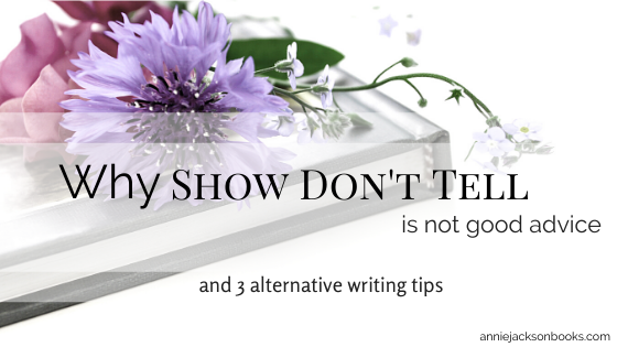 Show Dont Tell blog title