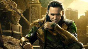 THOR THE DARK WORLD Tom Hiddleston as Loki DisneyMarvel