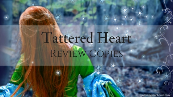 Tattered Heart Review Copies feature