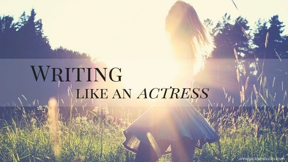 writing like an actress